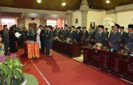 Rapat Paripurna Istimewa Peresmian Pengangkatan Dan Pengucapan Sumpah/Janji Pimpinan DPRD Kabupaten Tabanan Masa Bakti 2014-2019