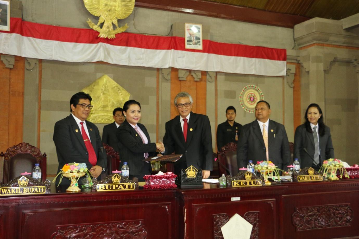 Catatan Dan Rekomendasi Dewan Terkait Laporan Keterangan Pertanggungjawaban (LKPJ) Bupati Tahun 2014
