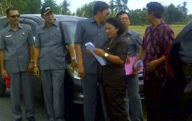 DPRD Kabupaten Tabanan Sidak Adanya Indikasi Pelanggaran Jalur Hijau  Di Kabupaten Tabanan