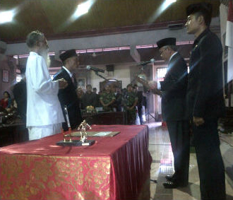 Pelantikan Anggota DPRD Tabanan