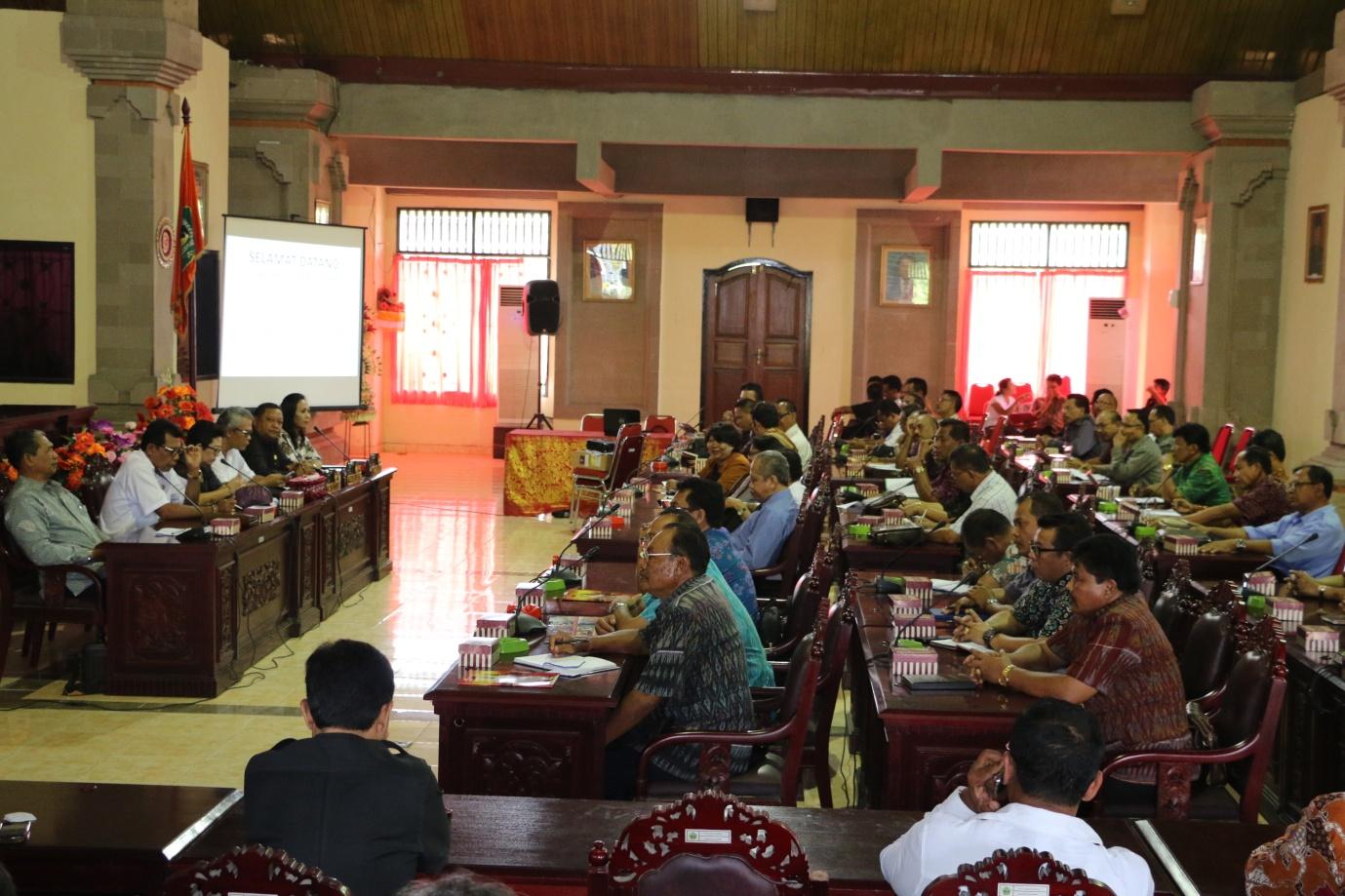 Sosialisasi Klinik Pendidikan Di DPRD Tabanan