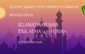 Selamat Hari Raya Idul Adha 1437 Hijriyah