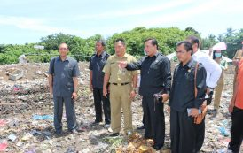 Komisi II Sidak Sistem Pengolahan Sampah Di TPA Mandung Pastikan Sampah Bermanfaat