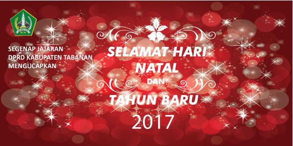 Selamat Natal dan Tahun Baru 2017