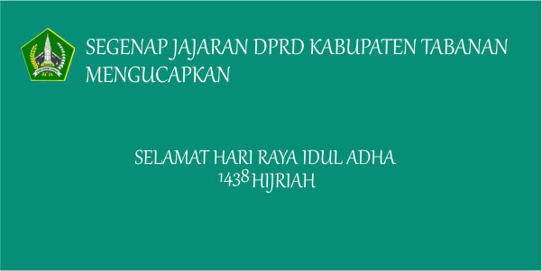 Hari Raya Idul Adha 1438 H