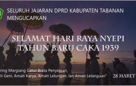 Selamat Hari Raya Nyepi Tahun Baru Saka 1939