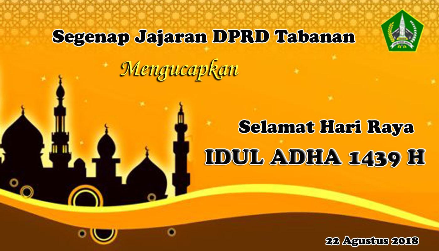 Selamat Hari Raya Idul Adha 1439 H