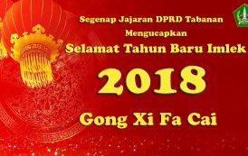 Selamat Tahun Baru Imlek 2018
