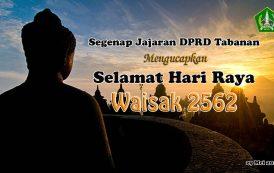 Selamat Hari Raya Waisak 2562