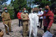 Ketua DPRD Tabanan I Made Dirga dampingi penyerahan bantuan APD dari DPRD Provinsi Bali