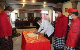Bupati Sanjaya Sampaikan Pidato Perdana di Sidang Paripurna DPRD Tabanan